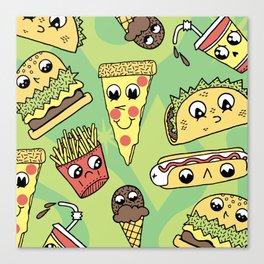 Snack Attack! Canvas Print