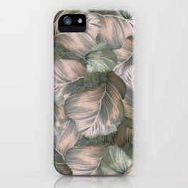 Heathered Grey Intertwine iPhone Case