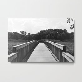 little bridge Metal Print