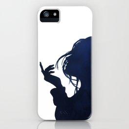 Sea breeze silhouette iPhone Case