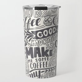 Drink coffee pattern Travel Mug