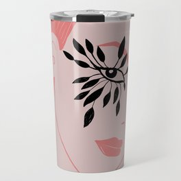 THE WOMAN WITH FEATHERS 4.0 Travel Mug