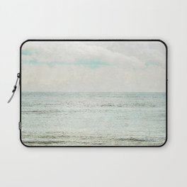 Silvery Seas Laptop Sleeve