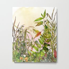 Woodland Meadow 2 Metal Print