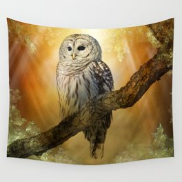 Bathed in light Wall Tapestry