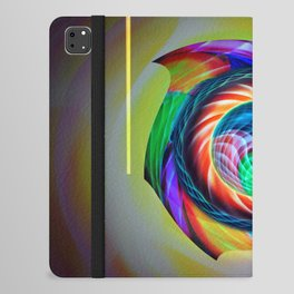 Abstract in perfection 121 iPad Folio Case