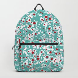 red wild dots Backpack