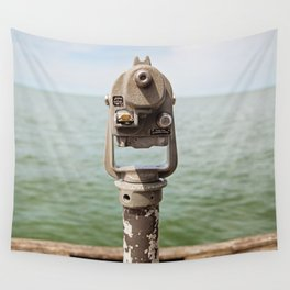 view to the bay Wall Tapestry