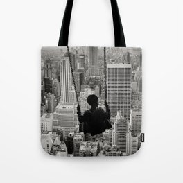 Playground Swings by GEN Z Tote Bag