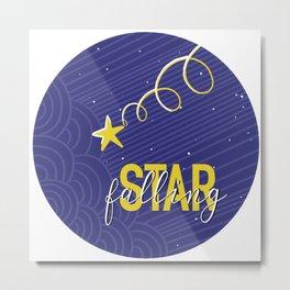 Falling Star Metal Print