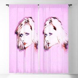 Debbie Harry - Blondie - Pop Art Blackout Curtain