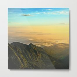 Permian Sunrise Metal Print