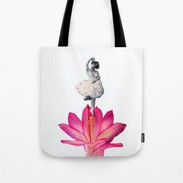 FLOWER DANCER Tote Bag