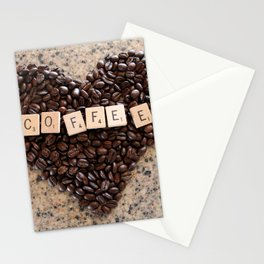 Love Coffee Stationery Cards