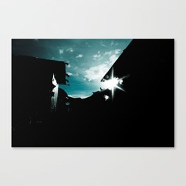 Blue in China Canvas Print