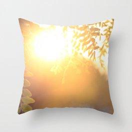 Sun Soak Throw Pillow