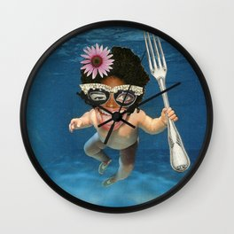 Fear the Trident Wall Clock
