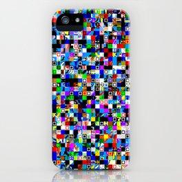 Pattern Test I-A iPhone Case