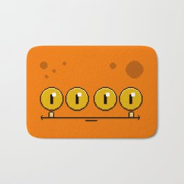 Stumpy (pixel) Bath Mat