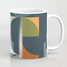 Mid Century Geometric 12/2 Coffee Mug