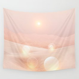 2077 landscape IV Wall Tapestry