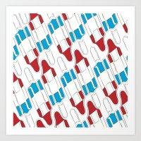 patriotic Art Prints featuring Patriotic  by Joseph Mayer