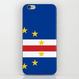Cape Verde Flag iPhone Skin