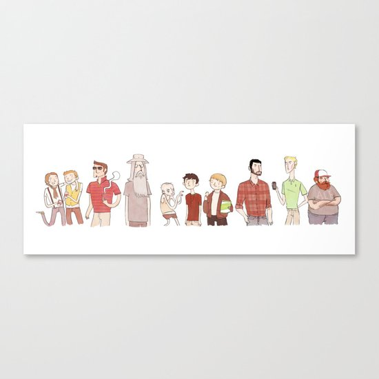The Broship of the Ring Canvas Print
