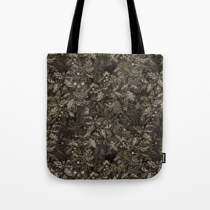 Fit In (autumn night colors) Tote Bag