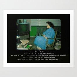 Silently Watching Art Print