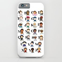 G is for Girl Power iPhone Case