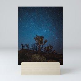 Midnight Stars at Joshua Tree Mini Art Print