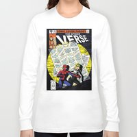 verse Long Sleeve T-shirts featuring Days of Spider Verse by Chance L