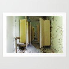 Chernobyl - вбиральня Art Print