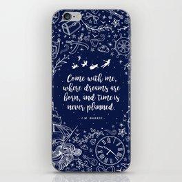 Where dreams are born iPhone Skin