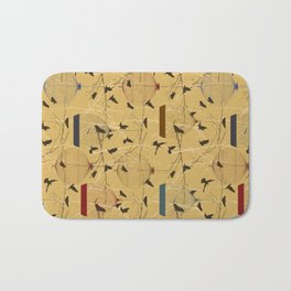 Seamless birdcage composition Bath Mat