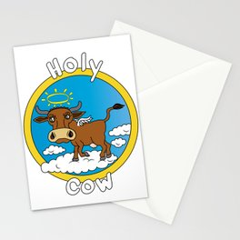 Holy Cow - What you say when surprised Stationery Cards