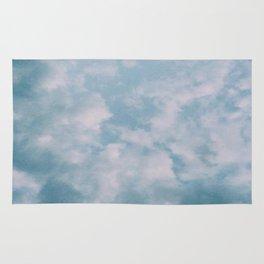 Fluffy Blue Clouds Rug