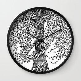 The Healing Tree Wall Clock