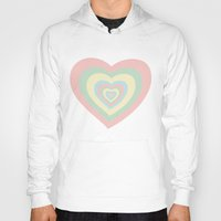 powerpuff girls Hoodies featuring I need a powerpuff girls heart~ by Sara Eshak
