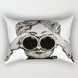 I'd Rather be Birdwatching Rectangular Pillow