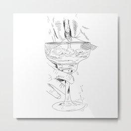 pussy margarita Metal Print