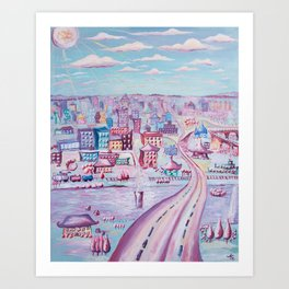 Hello, Lynchburg  Art Print