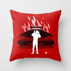 Christine (Red Collection) Throw Pillow