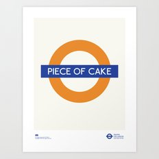 Piece Of Cake | TFL Art Print