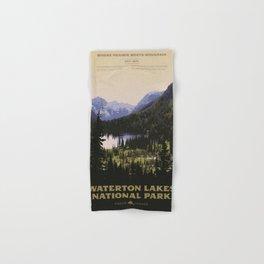 Waterton Lakes National Park Hand & Bath Towel