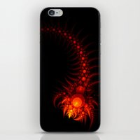 scorpio iPhone & iPod Skins featuring Scorpio by Eli Vokounova