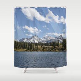 High On Dreams Shower Curtain