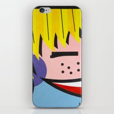 Little Blondie - Paint iPhone & iPod Skin