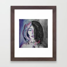 Wander/Lust Framed Art Print